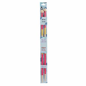 Ponnystickningsstift: Enkelsydd: Handfärgad: Stil: 30cm x 6.00mm