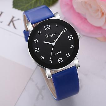 Women's Casual Quartz Leather Band Watch, Analog Wrist Women Clock, Female