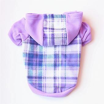 ملابس القط الكلب تقع هوديي ملابس الصوف القطبي لل صغيرة