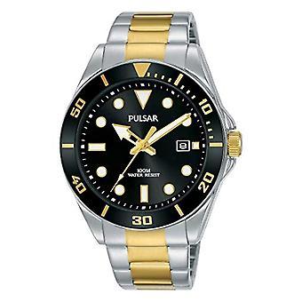 Seiko UK Limited - EU Pulsar-Watch ruostumattomasta teräksestä valmistetulla hihnalla PG8295X1