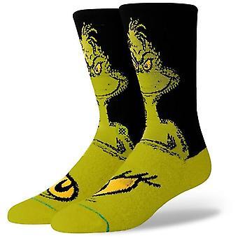 Stance The Grinch Crew Socken in Green