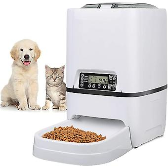 FengChun Automatic pet feeder for Cats Dogs, 6.5L Auto Food Dispenser With Features Portion