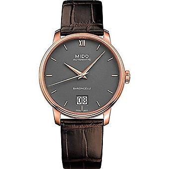 Mido watch baroncelli big date m027.426.36.088.00