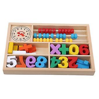 Dzieci Drewniane Matematyka Nauczanie Dzieci Digital Toy Learning & Edukacja Puzzle Toy| Bloki