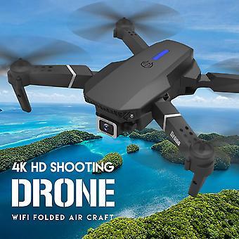 E525 Pro Drone med 4K Dobbelt kamera Wifi FPV Anti Kollision Foldbar Mini Dron| RC Helikoptere