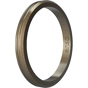 Enso Rings Halo Contour Elements Series Silicone Ring - Meteorito