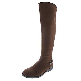 Steve Madden Womens Rhalie Fabric Closed Toe Knee High Fashion Boots