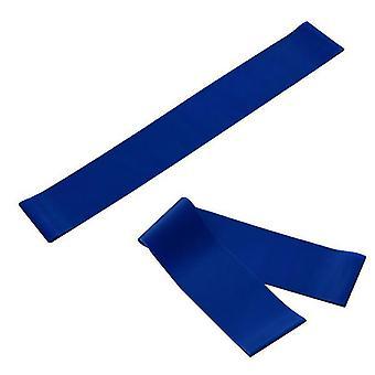 2Pcs 1pcs blue fitness yoga latex 600 loop tension band az5919