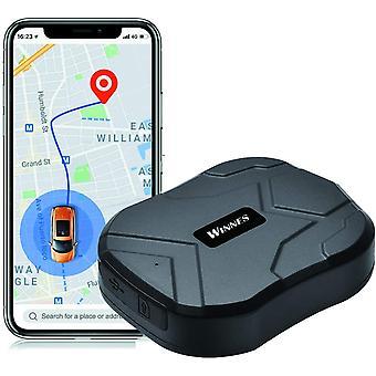 Winnes GPS трекер 3 месяца в режиме реального времени режим ожидания GPS / GPRS / GSM автомобильный противоугонный трекер с мощным магнитом TK905 (черный)