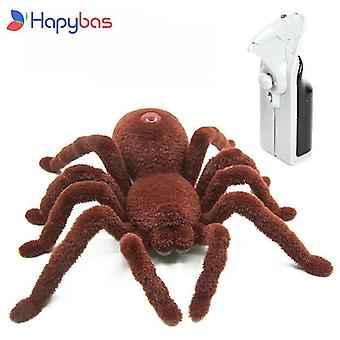 For Halloween Simulation Remote Control Infrared Realistic RC Spider Toy Prank Gift WS23985