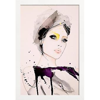JUNIQE Print - Intencja - Portrety Plakat w kolorach