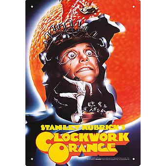 A Clockwork Orange One Sheet Tin Sign