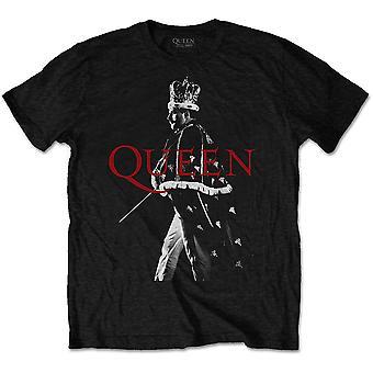 Queen - Freddie Crown Men's Medium T-Shirt - Noir