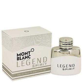 Montblanc Legend Spirit By Mont Blanc Eau De Toilette Spray 1 Oz (men)
