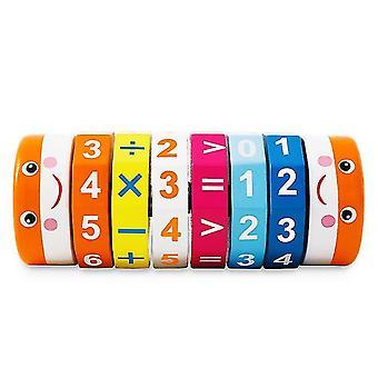 Cub multicolor cilindric digital pentru copii dt5383
