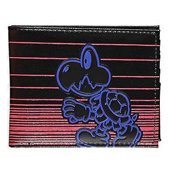 NINTENDO Super Mario Bros. Neon Koopa Bi-fold Wallet
