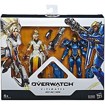 Overwatch Ultimates 2 Pack Pharah &Mercy Actie Figure Set