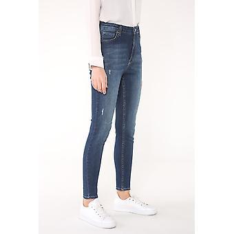 Hoge taille 5-pocket jeans