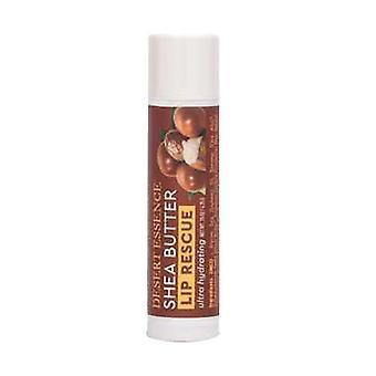 Desert Essence Lip Rescue Ultra Hydrating Shea Butter, .15 Oz(case of 24)