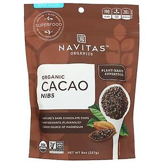 Navitas Naturals Organics Cacao Nibs, 8 Oz