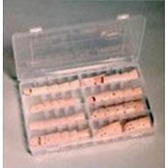 Brownmed Finger Splint Kit Plastalume Stax 30 Plastic Left or Right Hand Beige Assorted Sizes, 1 Each
