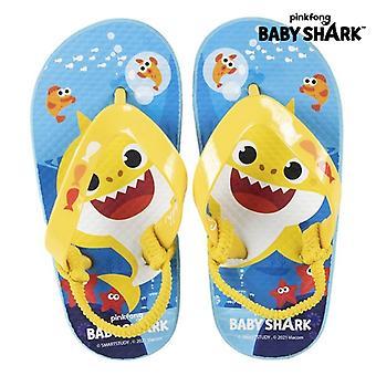 Flip Flops für Kinder Baby Shark Blau