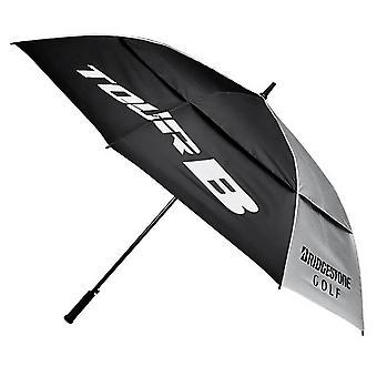 Bridgestone 2021 Shedrain Windproof Fibreglass Double Canopy Golf Umbrella