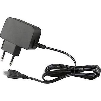 HN Power HNP12-MicroUSBL6 HNP12-MicroUSBL6 USB charger Mains socket Max. output current 2400 mA 1 x Micro USB plug