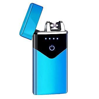 חדש hb-020-קרח כחול אופנה כפולה קשת אלקטרונית מגע חכם קל USB אינדוקציה נטענת sm41897