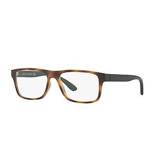 Polo Ralph Lauren PH2182 5602 Vintage Tummanruskeat lasit