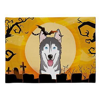 Caroline's Treasures BB1776PLMT Halloween Alaskan Malamute Stoff Tischset, Multicolor