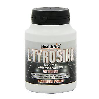 HealthAid L-Tyrosin 550mg Tabletten 60 (802105)