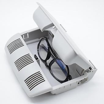 Car Sunglasses Storage Holder Box Glasses Case Clip