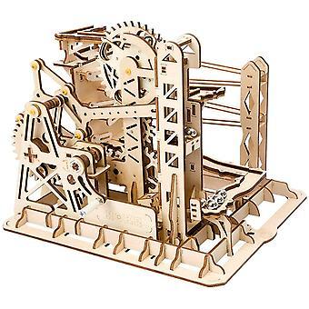 hölzerne mechanische 3D Puzzle mechanische Modell mit Balls Brainteaser für Kinder, Jugendliche und