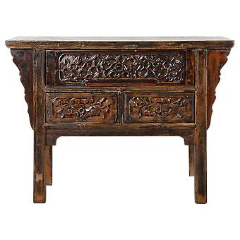 Fine Asianliving Antikke kinesiske konsol tabel håndkærrede W120xD48xH86cm