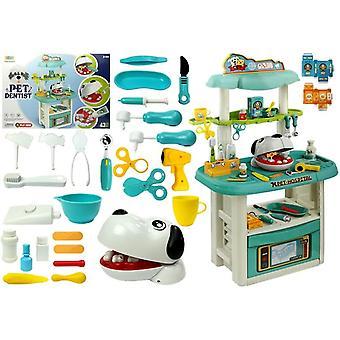 Ensemble de jouets vétérinaire dentiste - 43 pièces