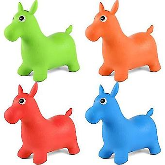 Eläinten pomppiva hyppy hevonen hopper puhallettava bouncer
