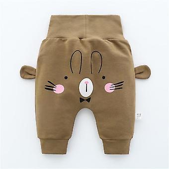 New Born Baby Cartoon Pants Spring High