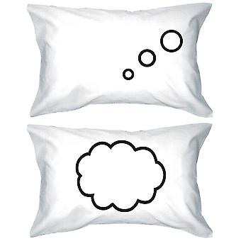 Tenkning Cloud 300 Threadcount Standard størrelse 21 x 30 matchende par Pillowcases