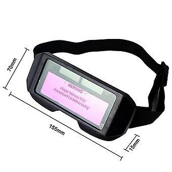 Auto Darkening Welding Helmet Automatic Light Change Goggle Glasses