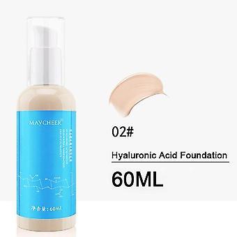60ML Hyaluronsäure Bb Creme Moisturizer Alterung Kollagen Essenz Flüssigkeit| Körper Glitter (natürliche Farbe)