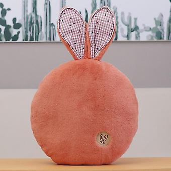 42cm cartoon pluche speelgoed gevulde doll office nap kussen schattige konijn oren kussen sofa kussen (baksteen