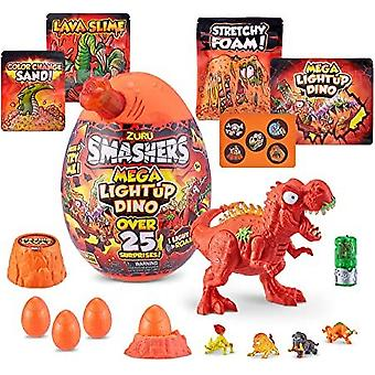 Smashers-Epic Egg-Series 4 Mega Light-Up Dino T-Rex