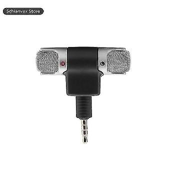 Microphones mini portable mic digital stereo microphone stereo recorder for phone professional mic with 3.5Mm