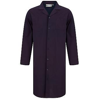 Slenderella Walker Reid WR88830 Men's Navy Cotton Nightshirt