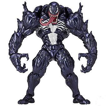 マーベルスパイダーマン ヴェノム リボルテック シリーズ Pvc フィギュア 人形 モデル キッズ トイ