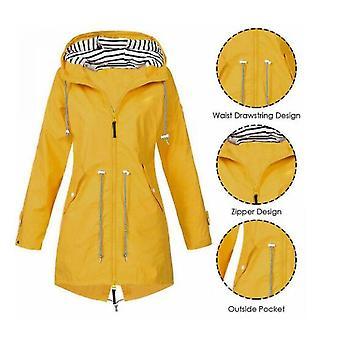 Manteau imperméable imperméable à l'eau de femmes de vent de veste extérieure de forêt de manteau