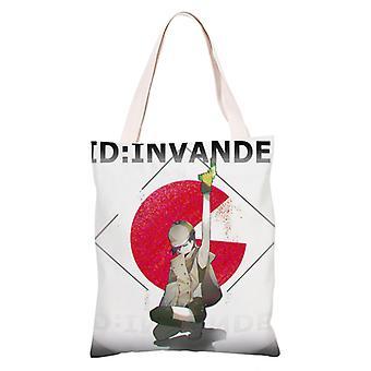 الكرتون أنيمي قماش التسوق حقيبة حمل، معرف: غزت #30