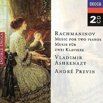 Vladimir Ashkenazy & Andre Previn - Rachmaninov: Musique pour 2 Pianos [CD] USA import