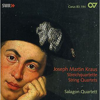 Joseph Martin Kraus - Joseph Martin Kraus: String Quartets [CD] USA import